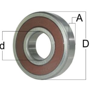 6206-2RS1/C3 GJN SKF RODAMIENTO INTERIOR 30mm